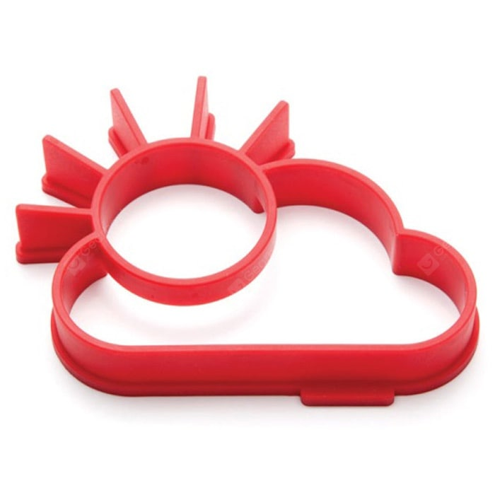 Lovely Sun Cloud Style Fried Egg Silicone Mould Cookware