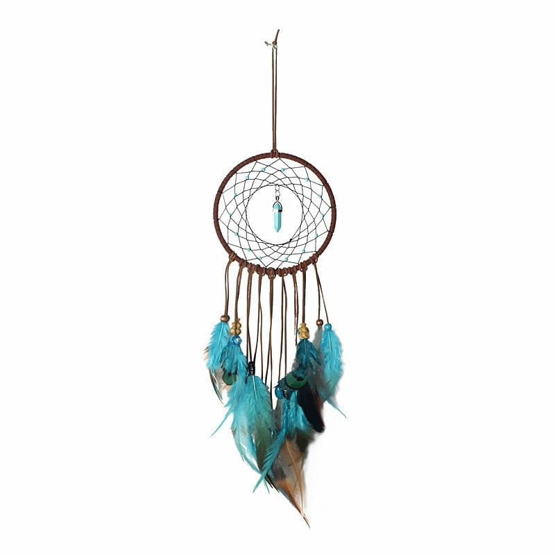 Handmade Dream Catcher With Feathers Wall Hanging Decoration Ornament Gift Tapestries