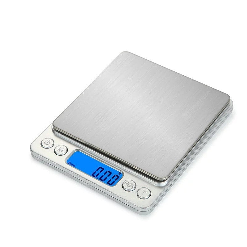 0.1g Precision Jewelry Electronic Digital Balance Weight Pocket Scale 2000g Other_Kitchen_Accessories