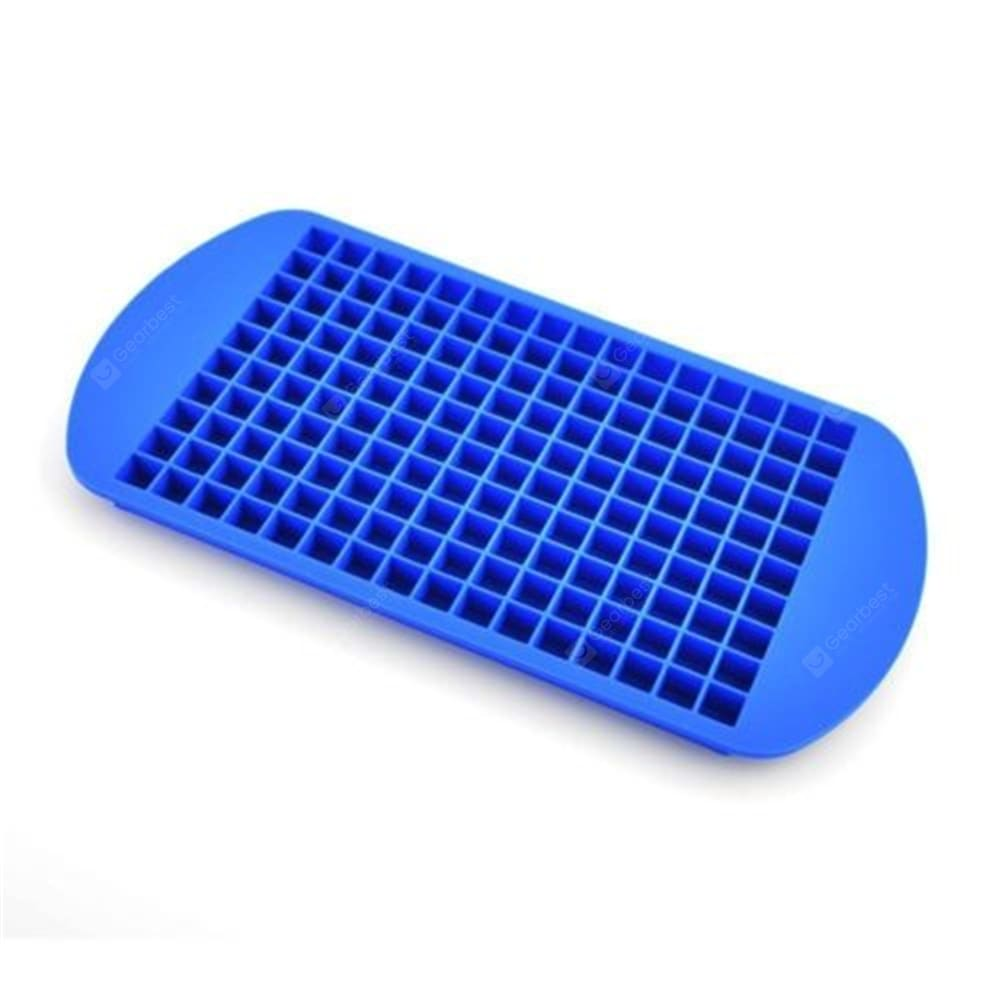 160 Grid Squares Mini Small Food Grade Silicone Ice Cube Tray Other_Kitchen_Accessories