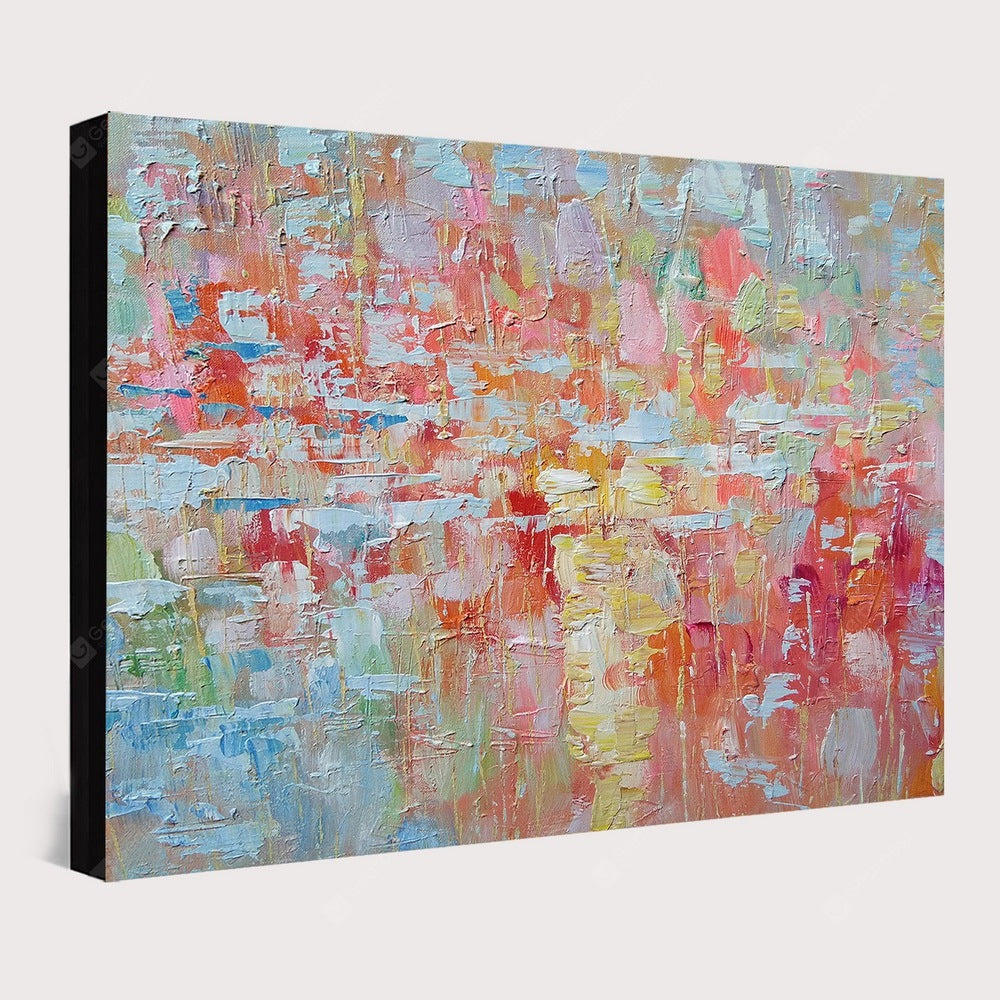 QINGYAZI HQ026 Hand-Painted Abstract Oil Painting Home Wall Art Painting Wall_Art