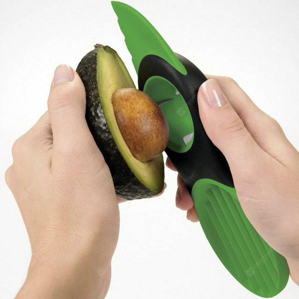 Three-In-One Avocado Special Knife Digging Flesh Cutting Avocado Separator Tool Cookware