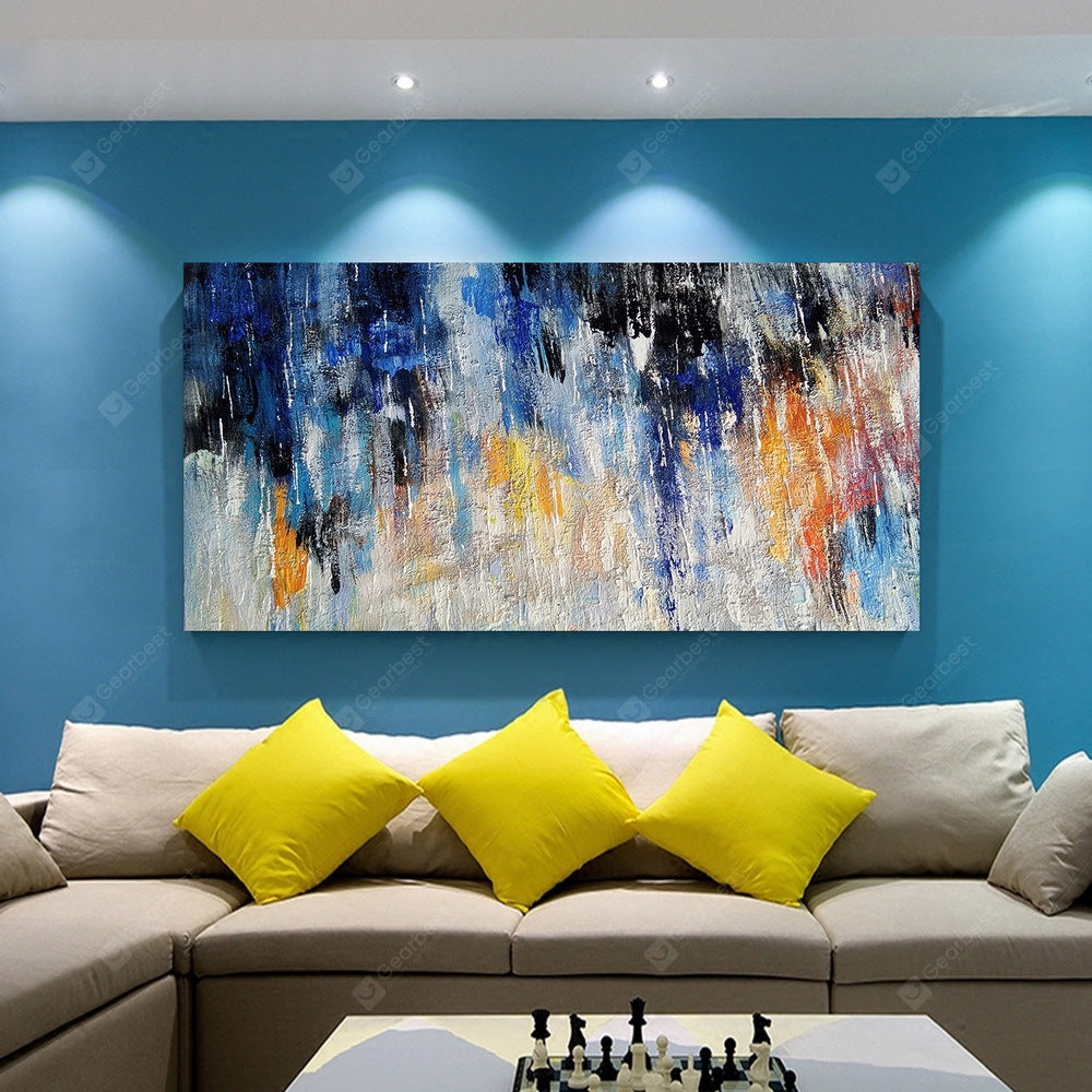 QINGYAZI HQ038 Hand-Painted Abstract Oil Painting Home Wall Art Painting Wall_Art
