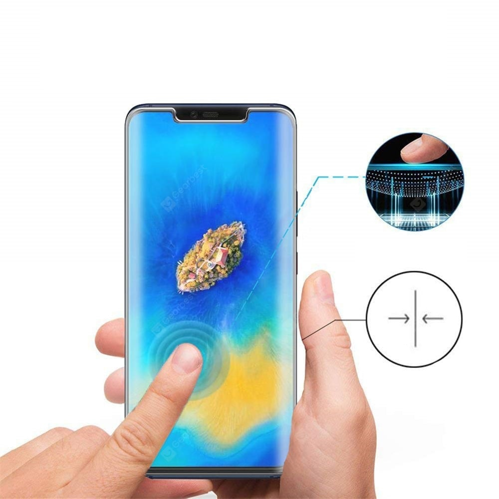 9H 0.26mm 3D Curved Full Screen Tempered Glass for Huawei Mate 20 Pro Screen_Protectors