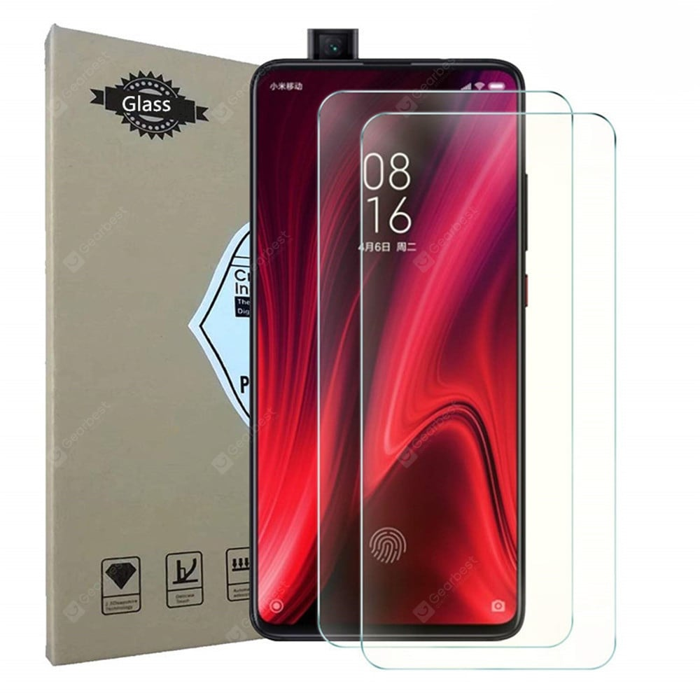 Tempered Glass Screen Protector for Xiaomi Redmi K20 / K20 Pro 2pcs Screen_Protectors