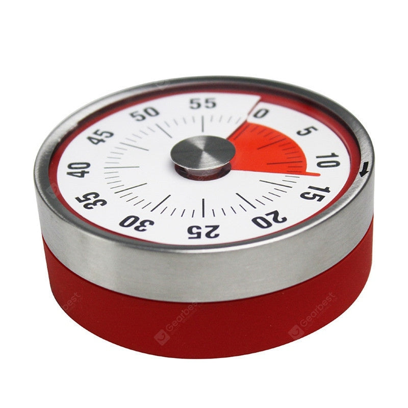 60 Minutes Kitchen Timer Cooking Baking Reminder Mechanical Counter Alarm Clock Other_Kitchen_Accessories