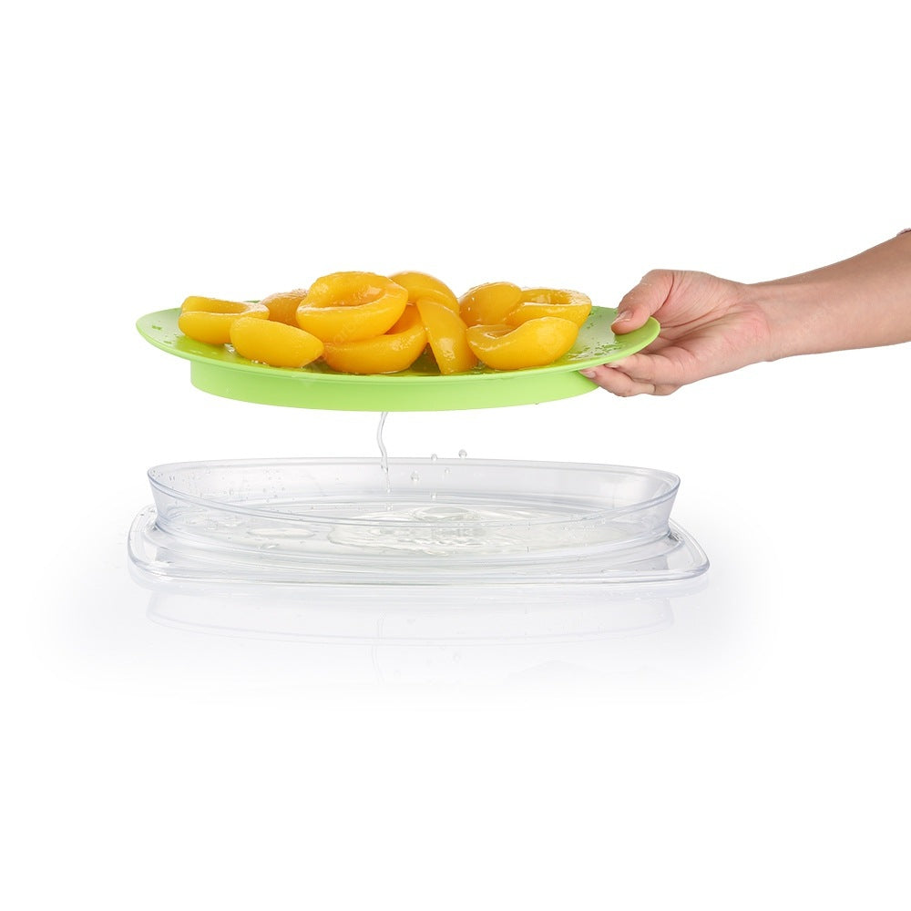 zanmini ZF - 01 Fruit Tray with Fork Cookware