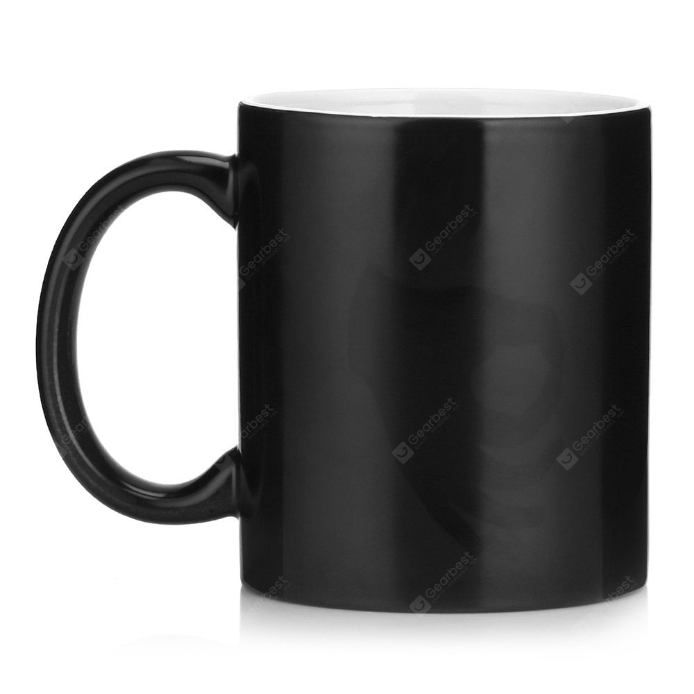 Color Changing Thermal Reaction Ceramic Coffee Mug Cup 1PC Drinkware