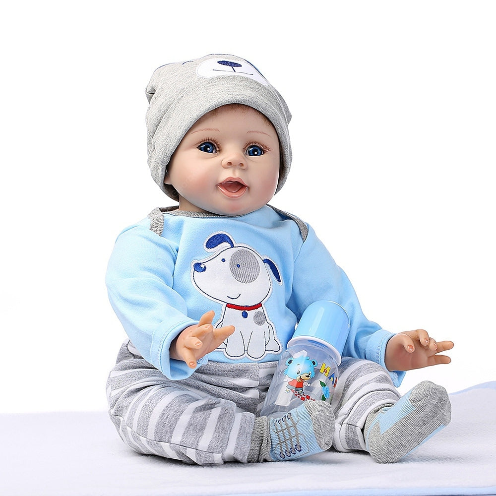 NPK Soft Silicone Simulation Reborn Baby Doll Toy for Children