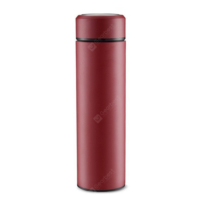 Simple Stainless Steel 500ml Vacuum Flask Drinkware