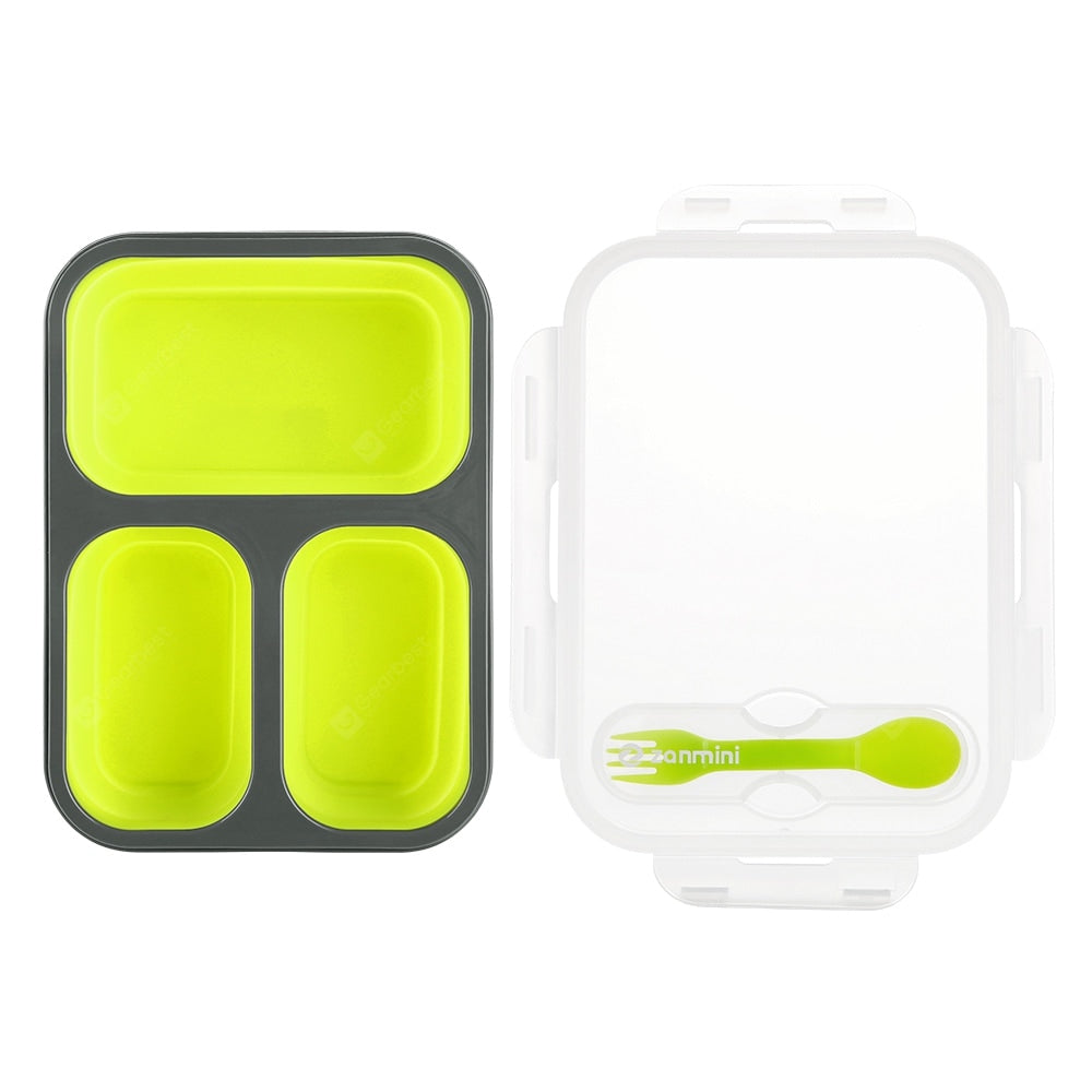 zanmini ZBOX03 Silicone Food Storage Container Dinnerware
