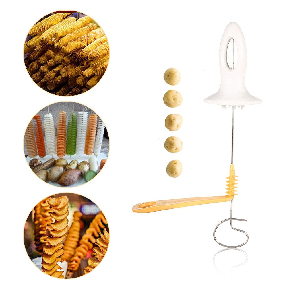 Potato Chips Spiral Cutter Tower Making Twist Shredder Cookware