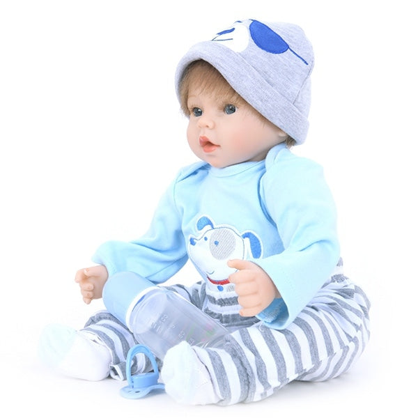 Emulate Reborn Toddler Sleep Helping Baby Doll Bath Toy