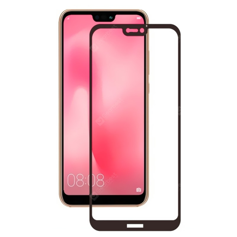 Tempered Glass Full Screen Protector for Huawei P20 Lite Screen_Protectors