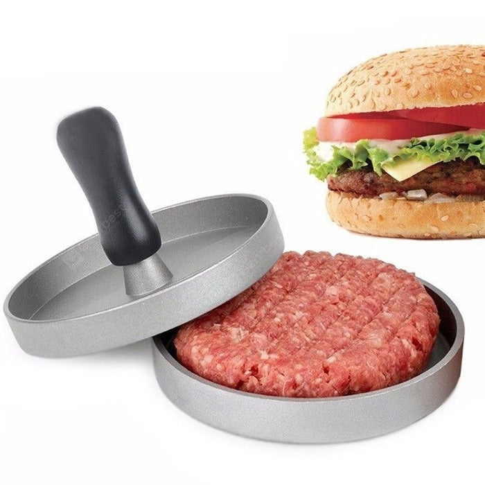 Aluminum Hamburger Meat Beef Maker Burger Pie Pressure Mould Other_Kitchen_Accessories