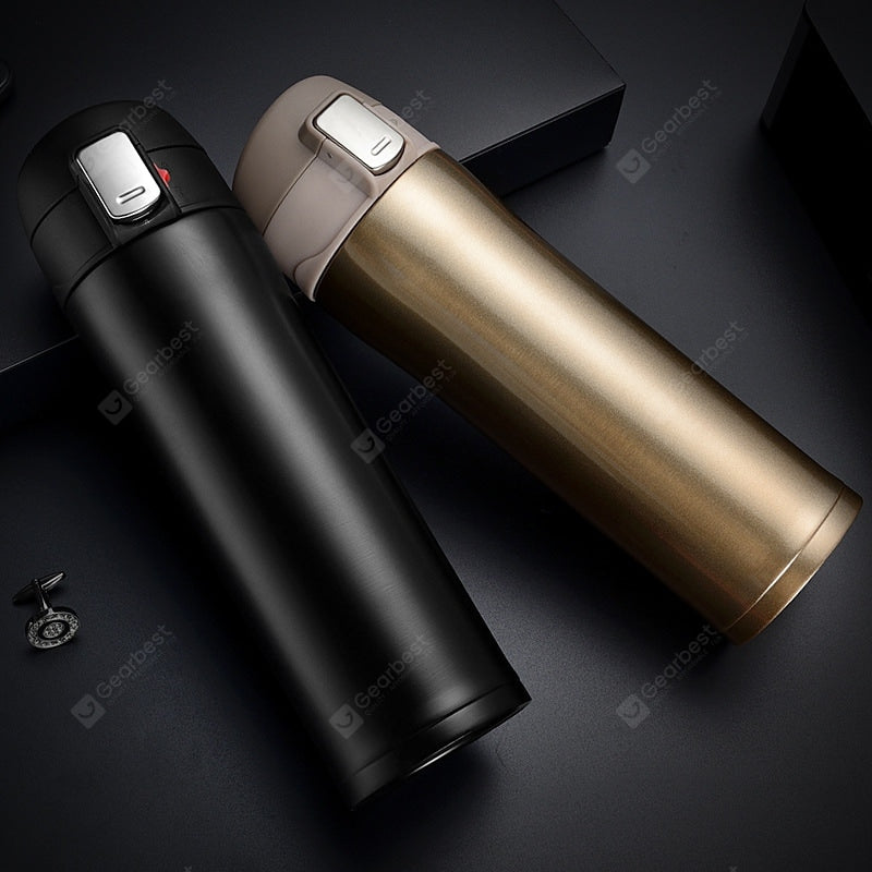304 Stainless Steel Vacuum Insulation Cup Gift Cup Creative Car Sports Bottle Drinkware