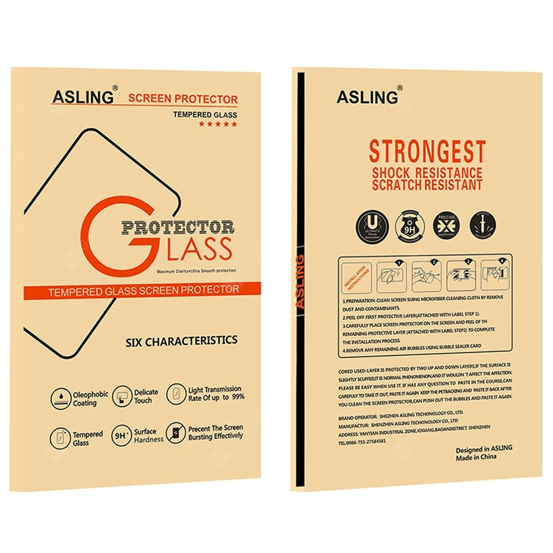 ASLING 2.5D Arc Edge 0.26mm Tempered Glass Screen Protector for Xiaomi 8 Lite 2pcs Screen_Protectors