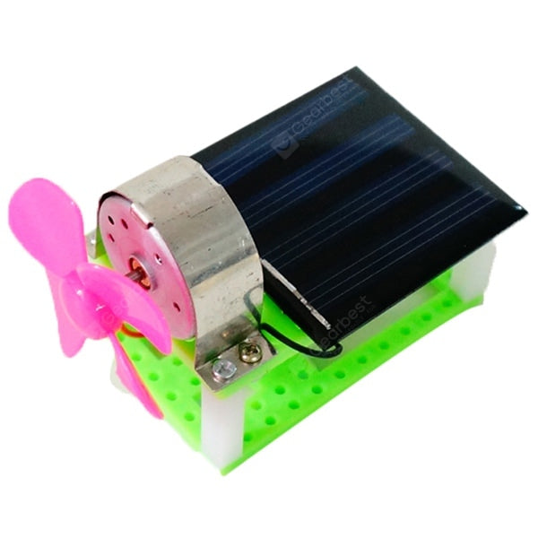 Handmade Textbook Solar Fan Science&Discovery_Toys