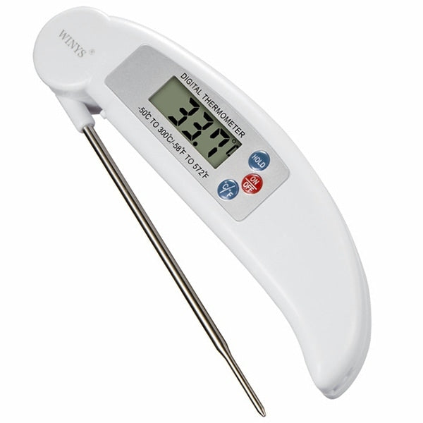 Folding Probe Barbecue Food Thermometer Kitchen Food Liquid Electronic Thermometer Other_Kitchen_Accessories