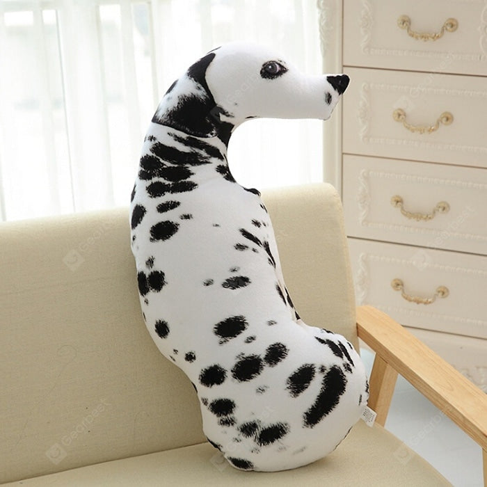 3D Simulation Dog Pillow