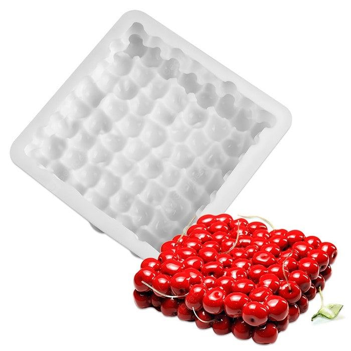 Double-layer Cherry Mousse Mould Cherry Cake Baking Mold Bakeware