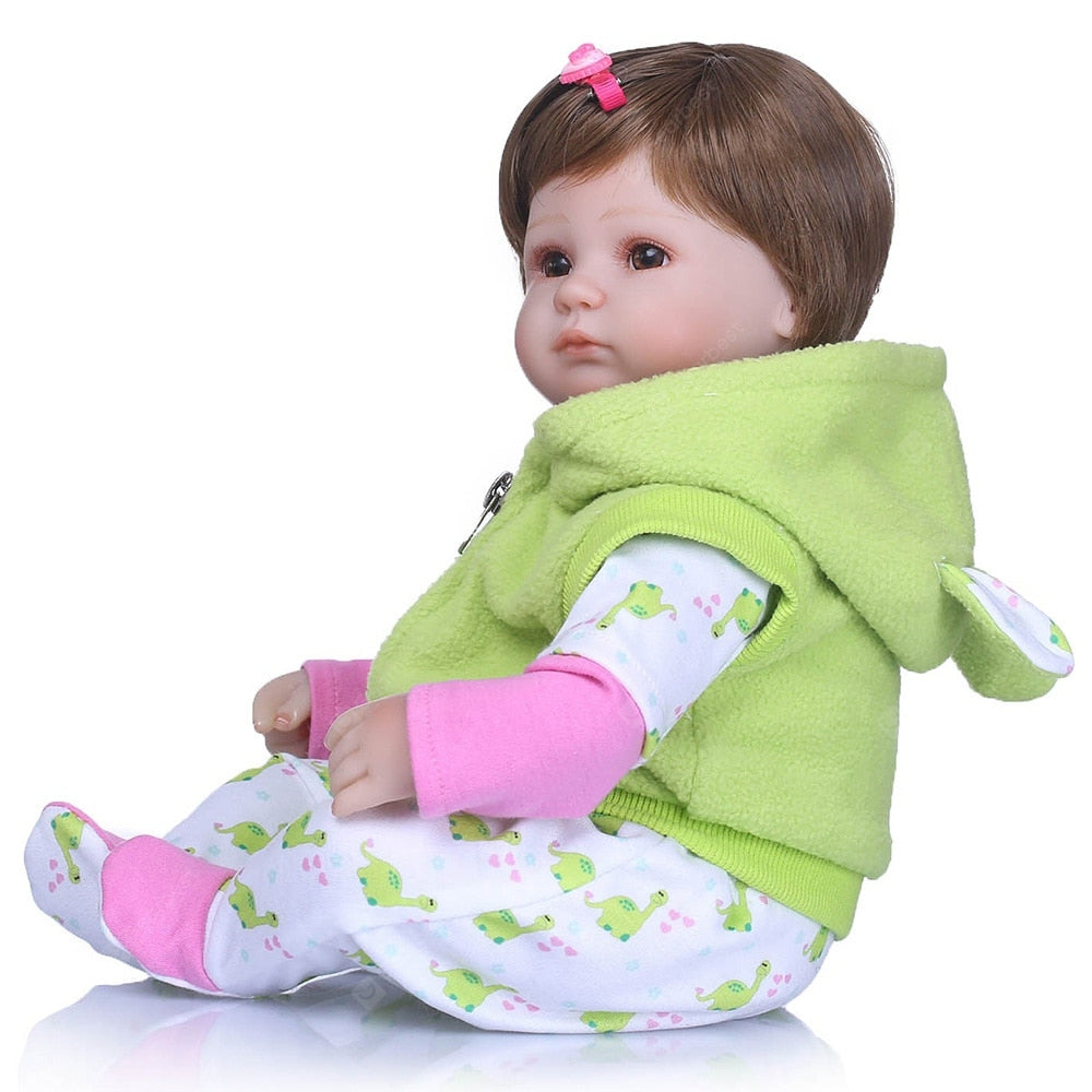 NPK Environmental Soft Plastic Simulation Cute Baby Toy