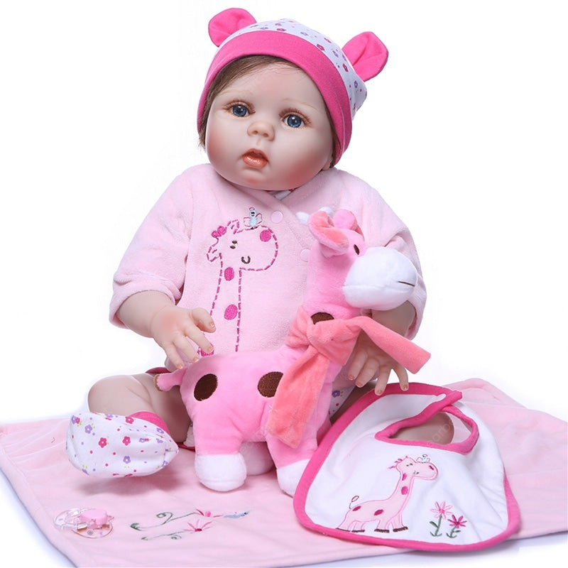 NPK Realistic Full Silicone Reborn Baby Doll Toy