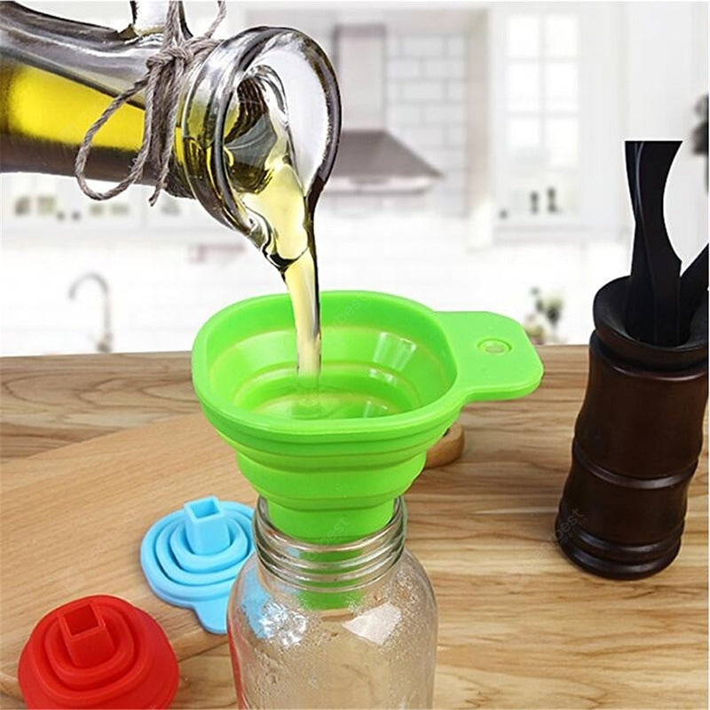 Portable Retractable Home Kitchen Funnel Other_Kitchen_Accessories