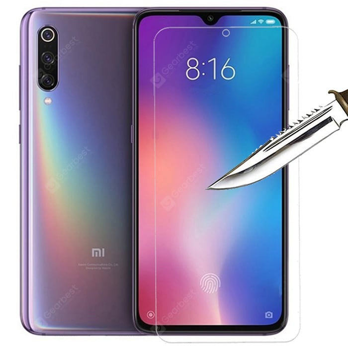 ASLING 2.5D Arc Edge 9H Transparent Tempered Film for Xiaomi Mi 9 SE 2pcs Screen_Protectors