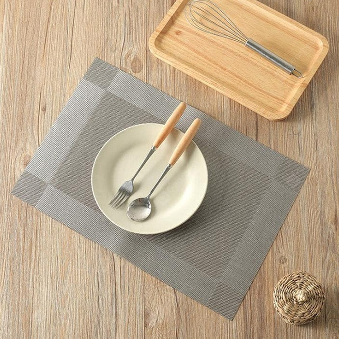 Free Wash PVC Insulated Table Mat 2pcs Other_Kitchen_Accessories
