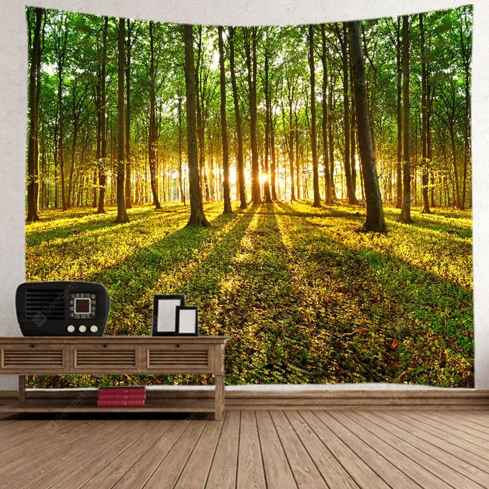 Sunset Path Home Decor Tapestry Tapestries