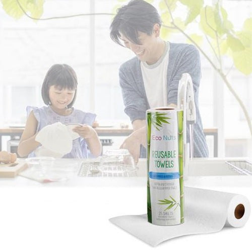 Bamboo Fiber Dish Kitchen Towel Absorbent Non-stick Oil Cloth 25pcs Other_Kitchen_Accessories