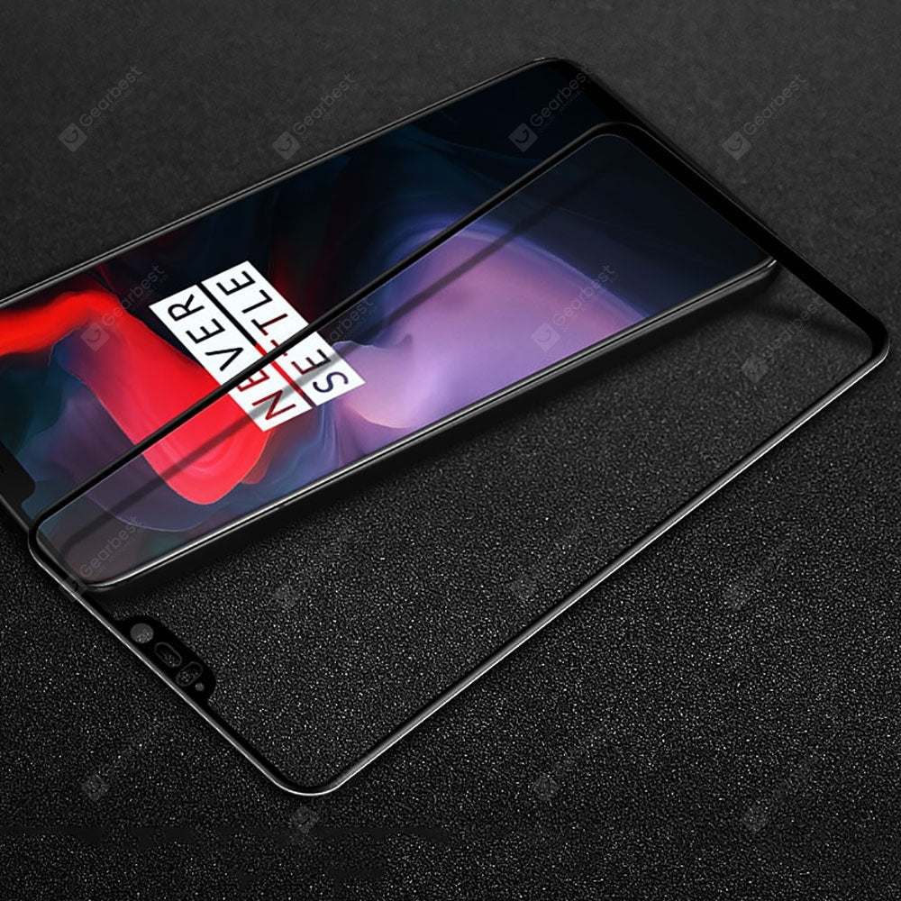 2.5D Full Cover Tempered Glass Screen Protector for Oneplus 6 Screen_Protectors