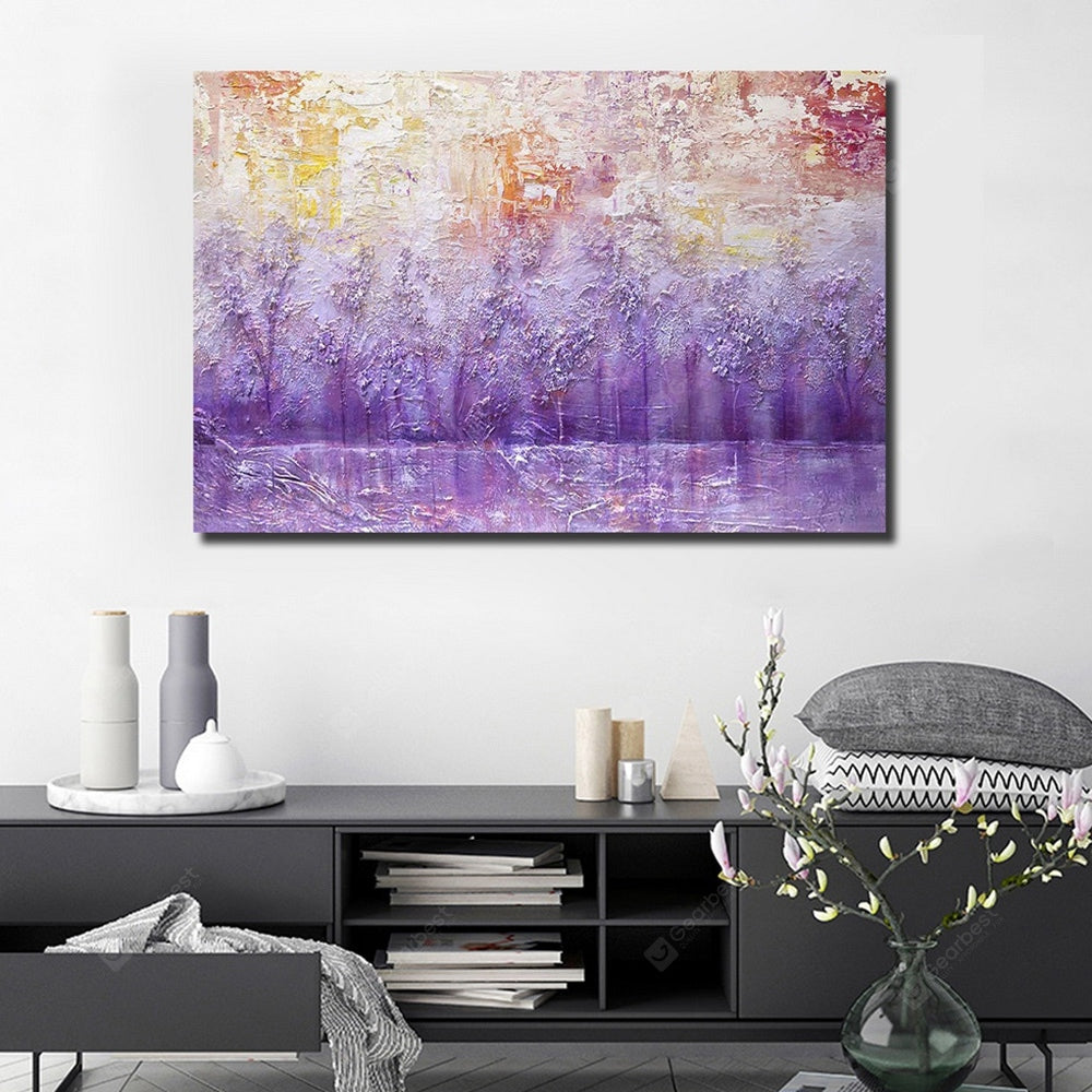 QINGYAZI HQL036 Hand-painted Abstract Oil Painting Home Wall Art Wall_Art