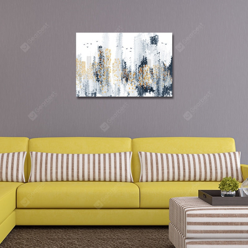DYC Abstract Urban Architecture Print Art Wall_Art