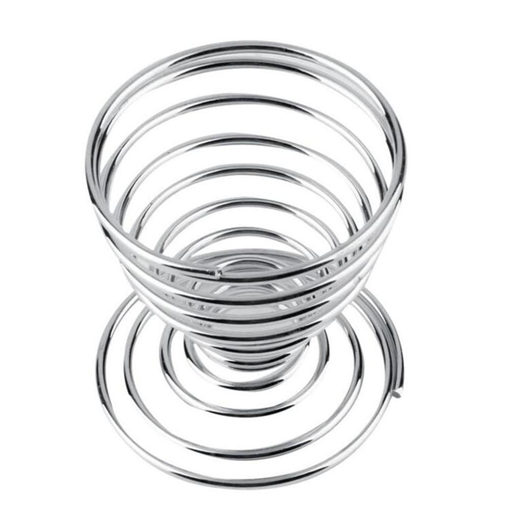 Stainless Steel Egg Spring Support Practical Shelf Tools Other_Kitchen_Accessories