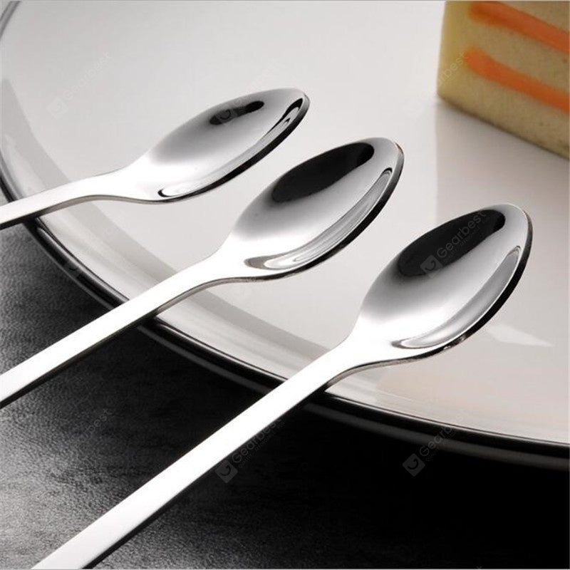 Cute Cat Spoon Long Handle Spoons Flatware Drinking Tools Gadgets Dinnerware