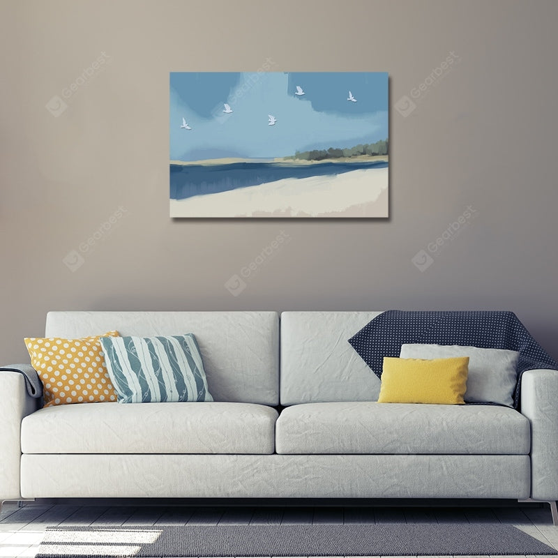 DYC Abstract Seaside Scenery Print Art Wall_Art