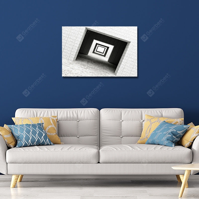 DYC Fashion Retro Architecture Print Art Wall_Art