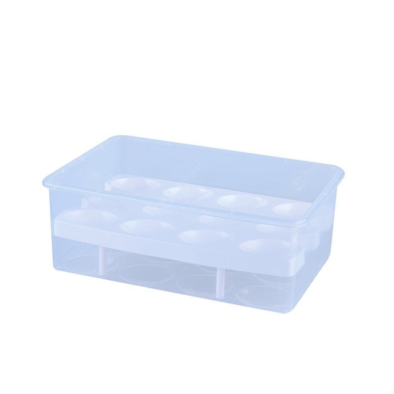 Egg Box Food Container Organizer Convenient Storage Other_Kitchen_Accessories