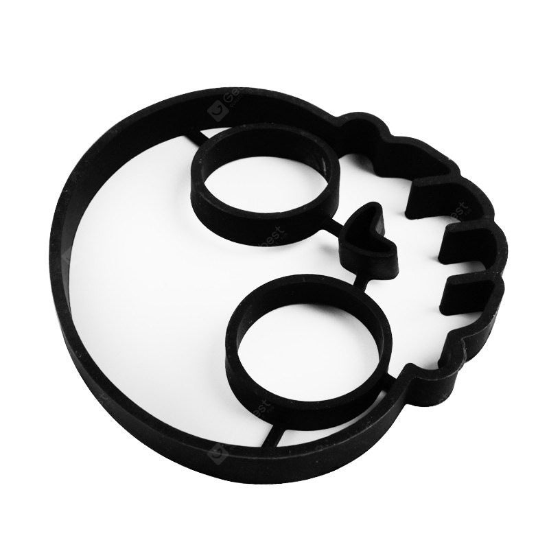 Lovely Cartoon Shape Fried Eggs Mold 2PCS Cookware