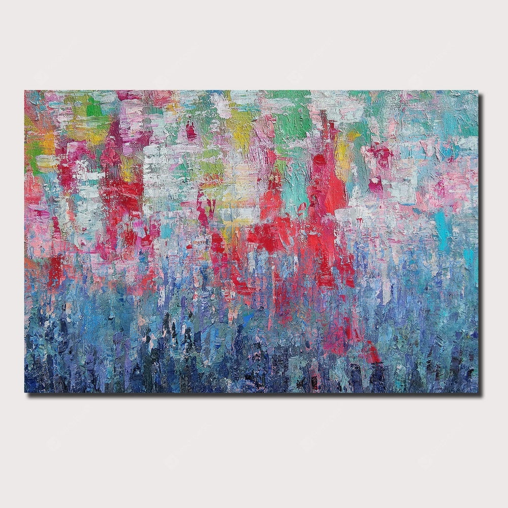 QINGYAZI HQ089 Hand-Painted Abstract Oil Painting Home Wall Art Painting Wall_Art