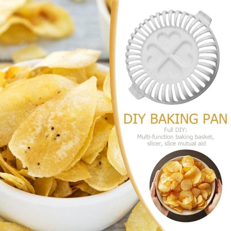 DIY Special Tool for Making Fat-Free Crisps 3 Pieces Set Cookware