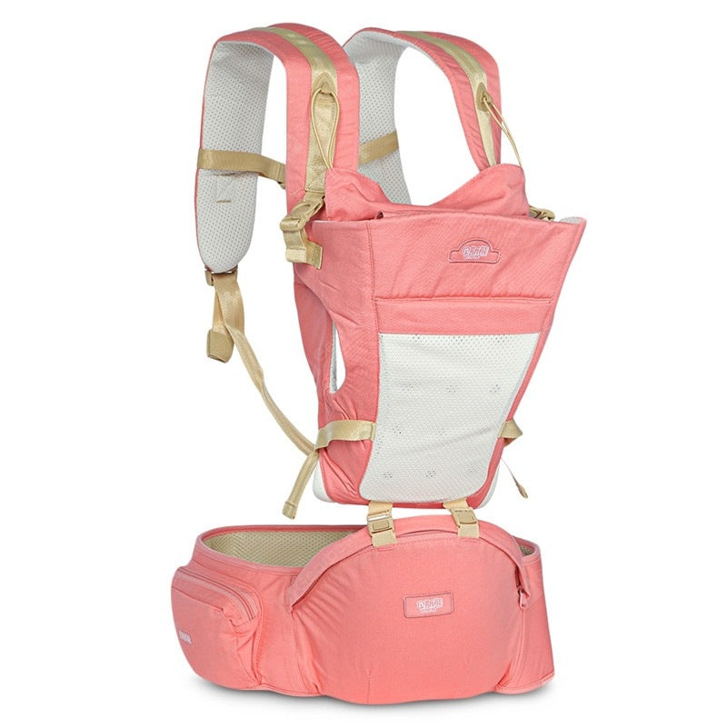 Bethbear Hipseat Newborn 4 in 1 Ergonomic Baby Carrier Kid Sling Backpack Baby_Carriers&Backpacks