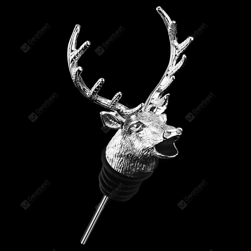 Unique Deer Head Wine Mouth Pourer Do Red Wine Wake Device Cookware