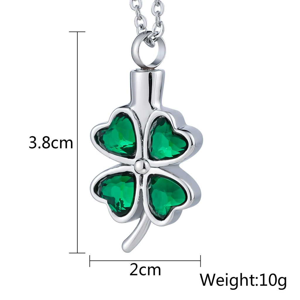 Urn Necklace Cremation Necklace Stainless Steel Engravable 2 x 3.8cm