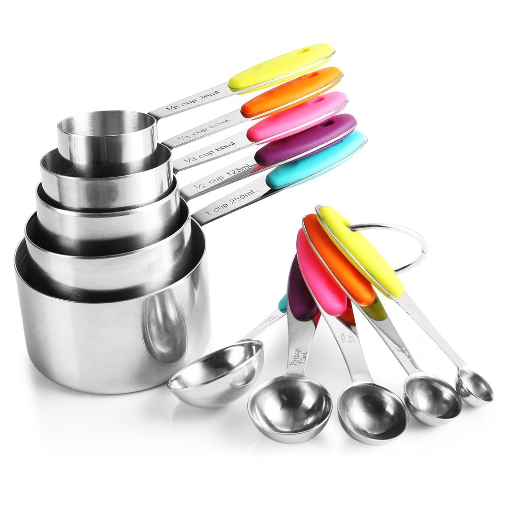Measuring Cups And Spoons Set Measuring Cups Measuring Spoons Cookware