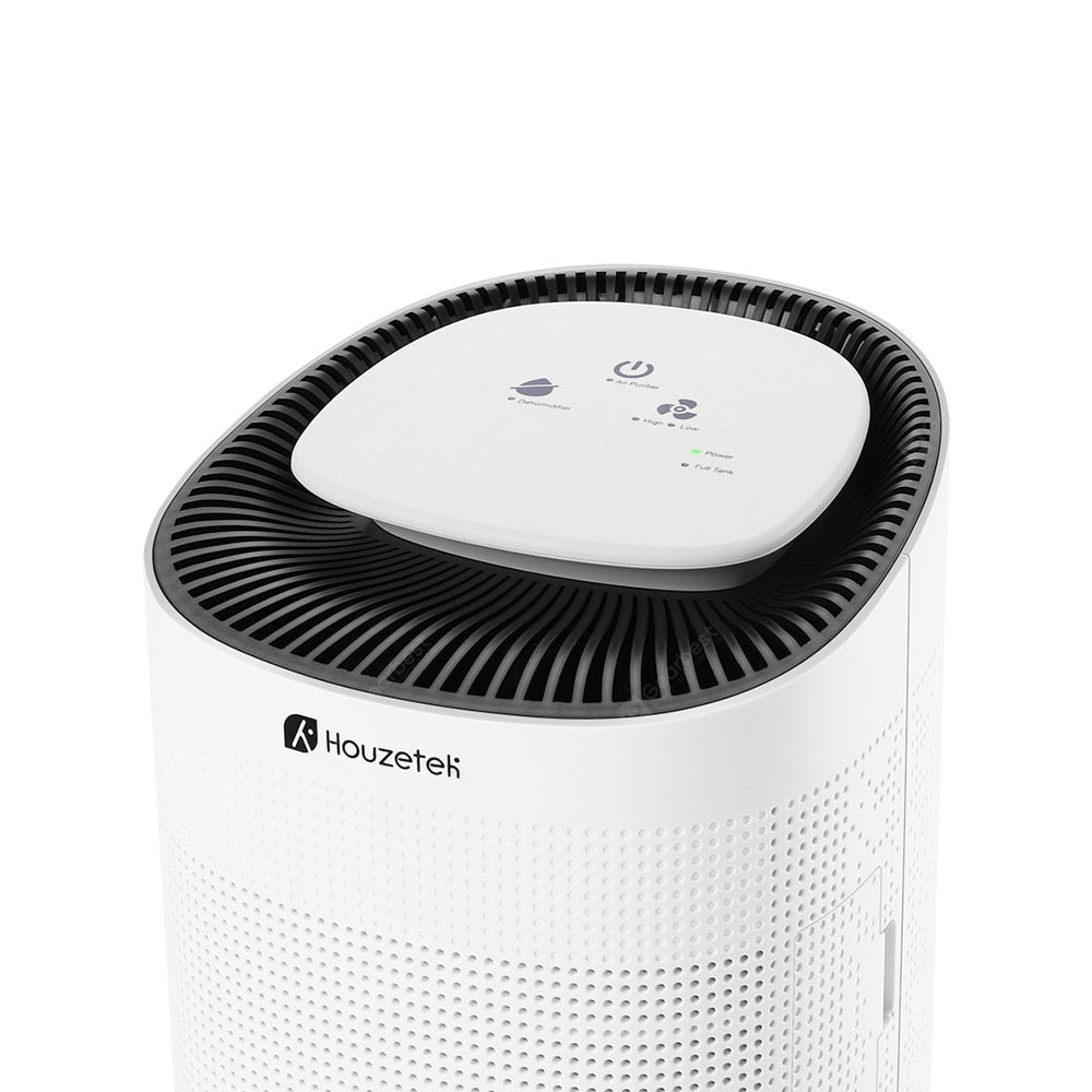Houzetek Q7 Air Purifying Dehumidifier with HEPA Filter