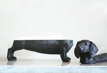 Load image into Gallery viewer, Dachshund Secret Bowl - Black