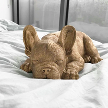 Load image into Gallery viewer, Sleeping Frenchie - Gold